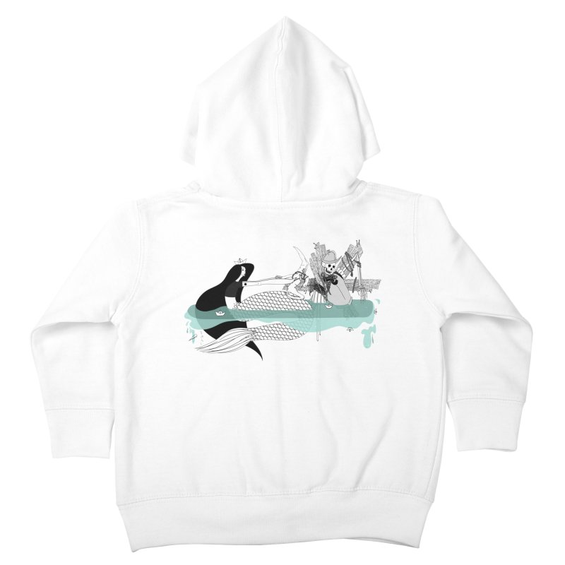 Serene Of Solitude Vol. IV by Sardine Kids Toddler Zip-Up Hoody by Sardine