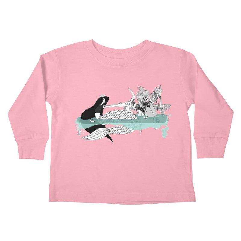 Serene Of Solitude Vol. IV by Sardine Kids Toddler Longsleeve T-Shirt by Sardine
