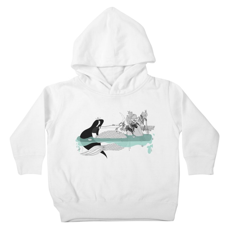 Serene Of Solitude Vol. IV by Sardine Kids Toddler Pullover Hoody by Sardine