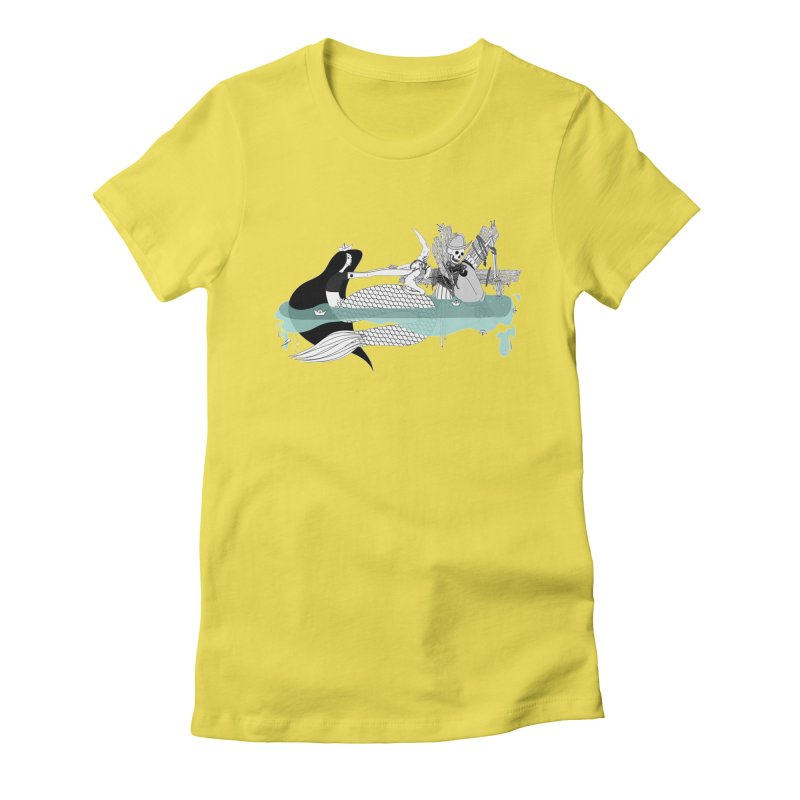 Serene Of Solitude Vol. IV by Sardine Women's Fitted T-Shirt by Sardine