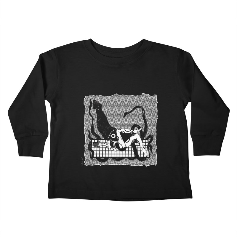 Geisha At The Sea Vol. II by Sardine Kids Toddler Longsleeve T-Shirt by Sardine