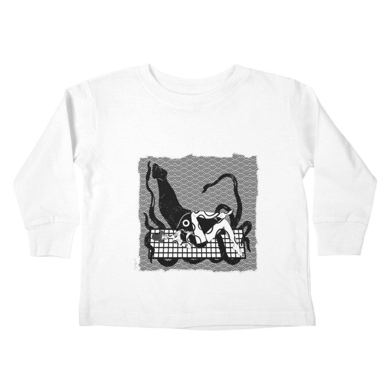 Geisha At The Sea Vol. II by Sardine Kids Toddler Longsleeve T-Shirt by Sardine