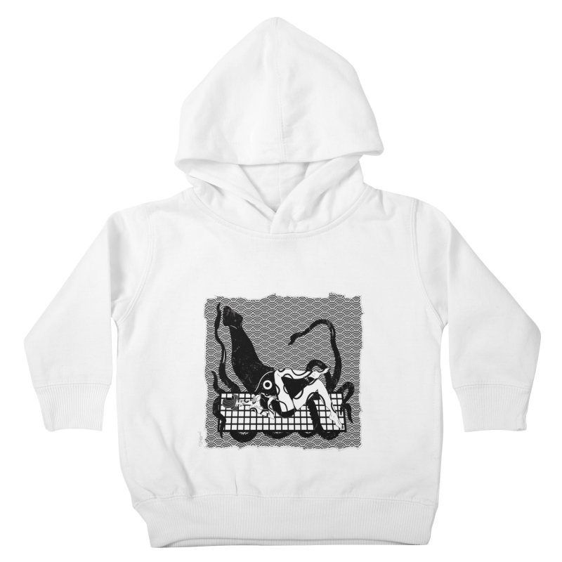 Geisha At The Sea Vol. II by Sardine Kids Toddler Pullover Hoody by Sardine
