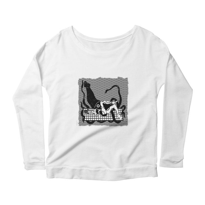 Geisha At The Sea Vol. II by Sardine Women's Scoop Neck Longsleeve T-Shirt by Sardine