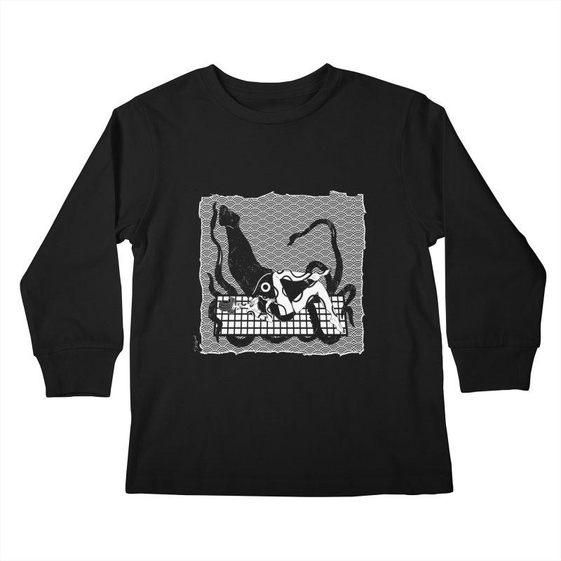 Geisha At The Sea Vol. II by Sardine Kids Longsleeve T-Shirt by Sardine