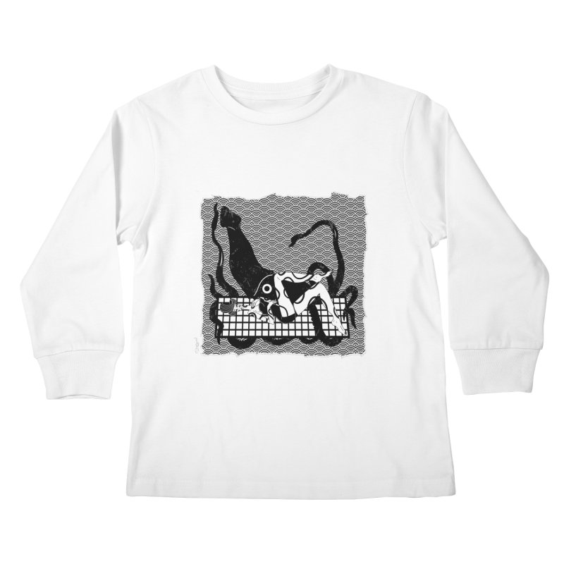 Geisha At The Sea Vol. II by Sardine Kids Longsleeve T-Shirt by Sardine