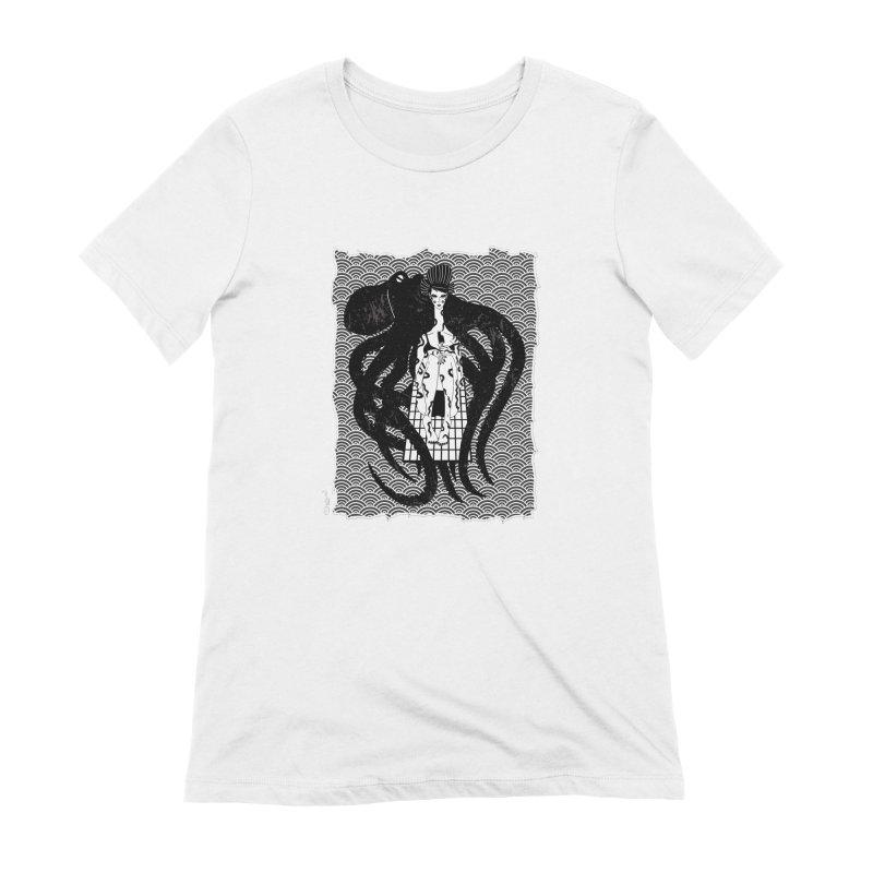 Geisha At The Sea Vol. I by Sardine Women's Extra Soft T-Shirt by Sardine