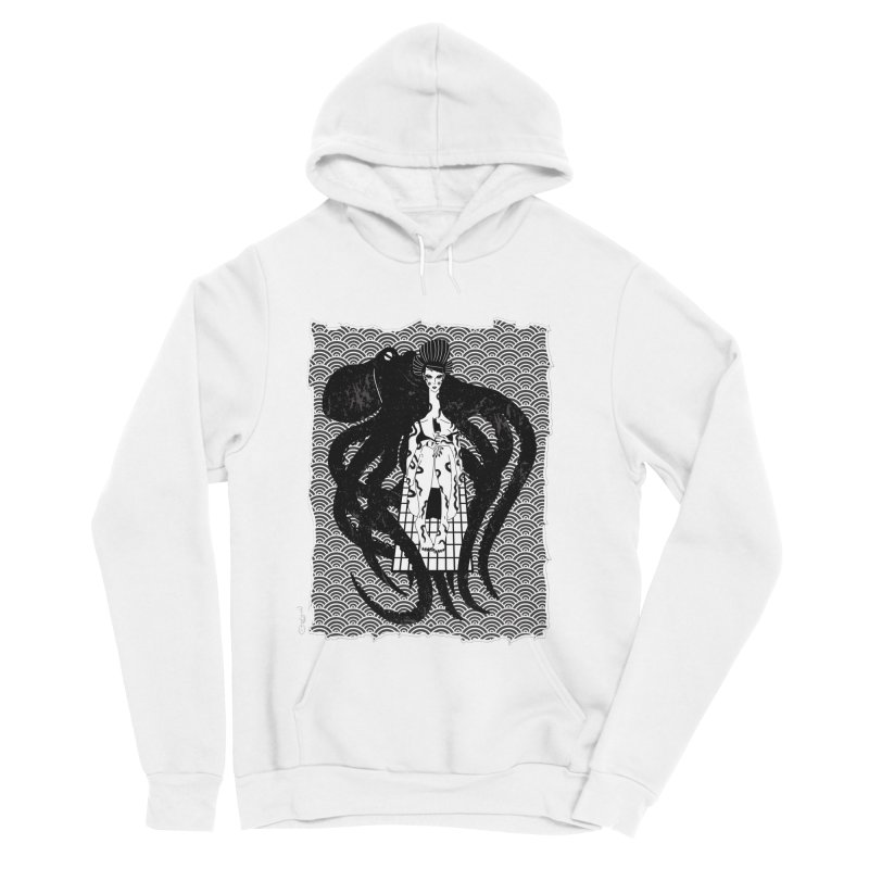 Geisha At The Sea Vol. I by Sardine Men's Sponge Fleece Pullover Hoody by Sardine