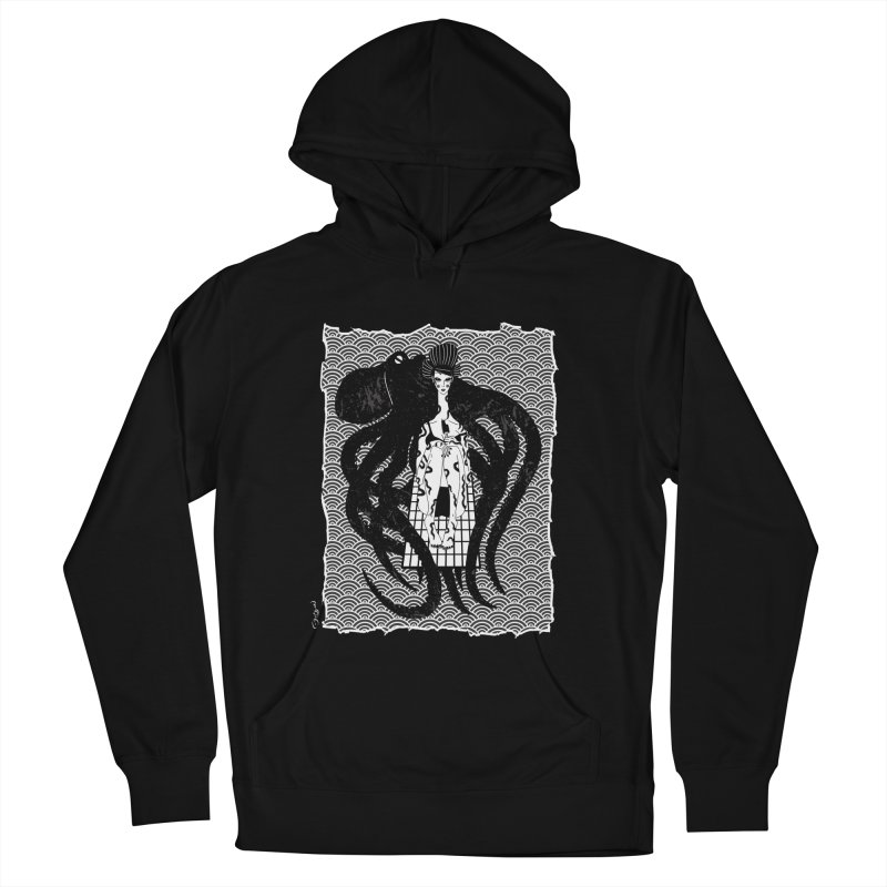 Geisha At The Sea Vol. I by Sardine Men's French Terry Pullover Hoody by Sardine
