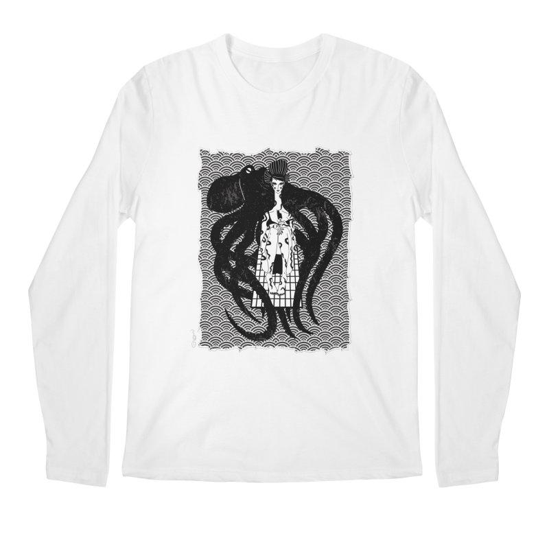 Geisha At The Sea Vol. I by Sardine Men's Regular Longsleeve T-Shirt by Sardine