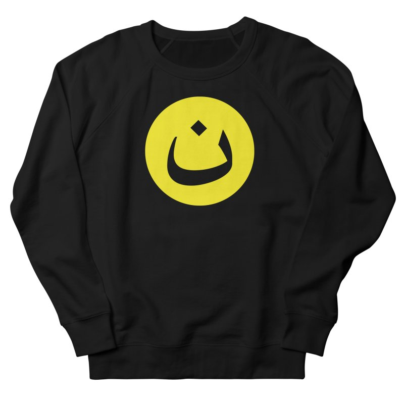 The Noon Cyclops Smiley by Sardine Women's French Terry Sweatshirt by Sardine