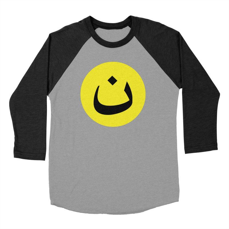 The Noon Cyclops Smiley by Sardine Women's Baseball Triblend Longsleeve T-Shirt by Sardine