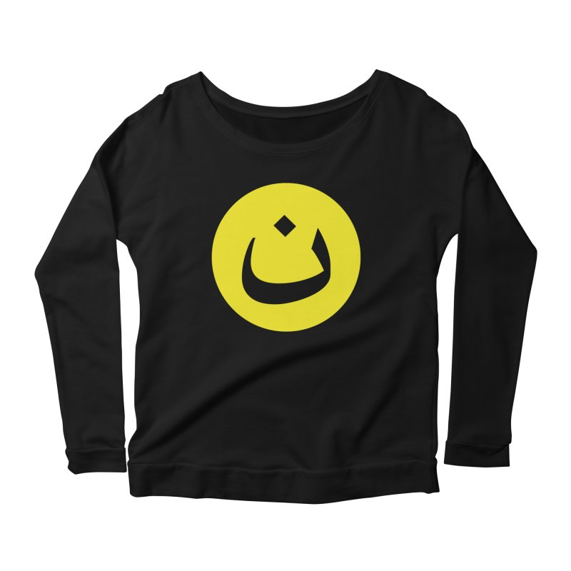 The Noon Cyclops Smiley by Sardine Women's Scoop Neck Longsleeve T-Shirt by Sardine