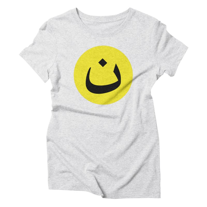 The Noon Cyclops Smiley by Sardine Women's Triblend T-Shirt by Sardine