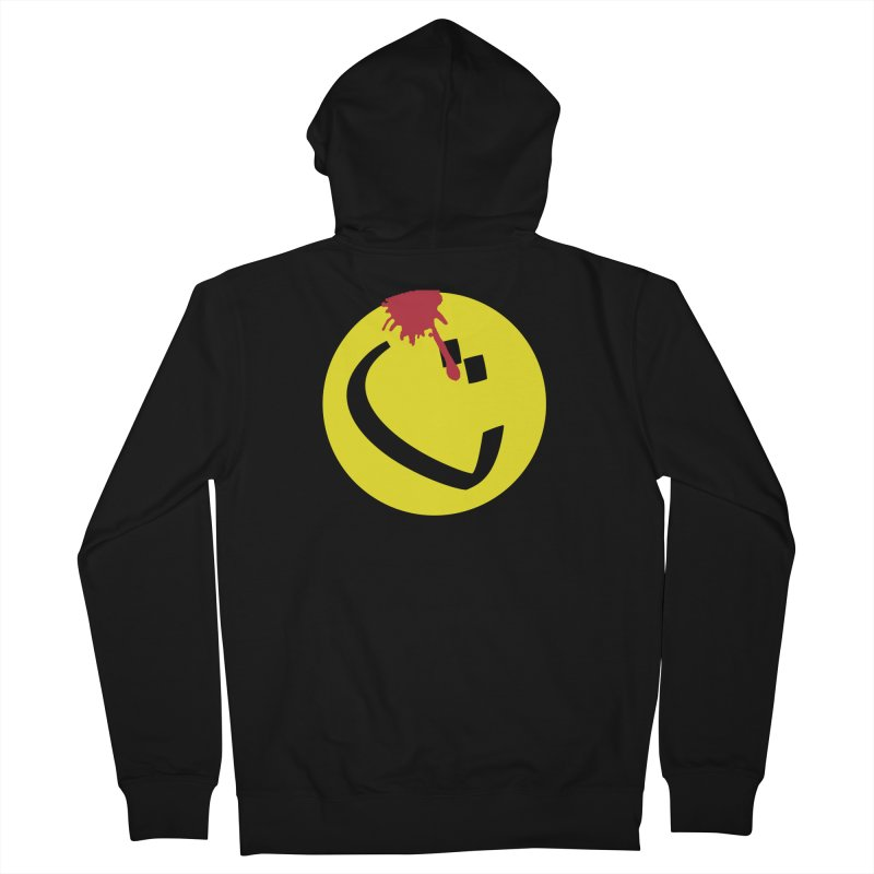 The Tah Smiley Comics Tribute by Sardine Men's French Terry Zip-Up Hoody by Sardine