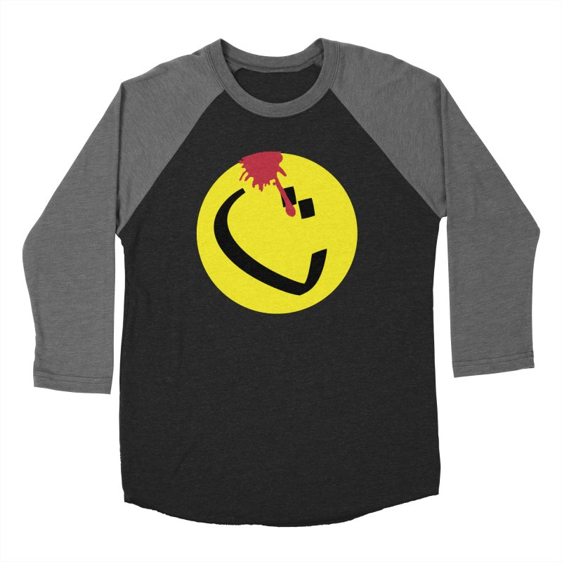The Tah Smiley Comics Tribute by Sardine Women's Baseball Triblend Longsleeve T-Shirt by Sardine