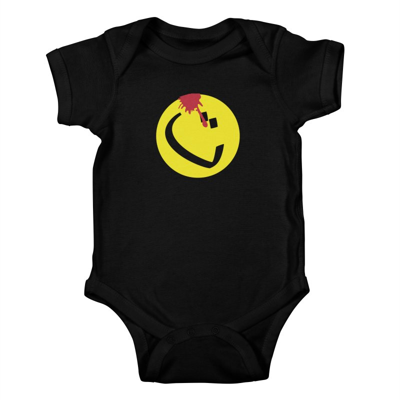 The Tah Smiley Comics Tribute by Sardine Kids Baby Bodysuit by Sardine