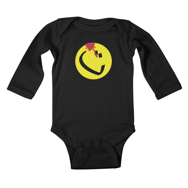 The Tah Smiley Comics Tribute by Sardine Kids Baby Longsleeve Bodysuit by Sardine