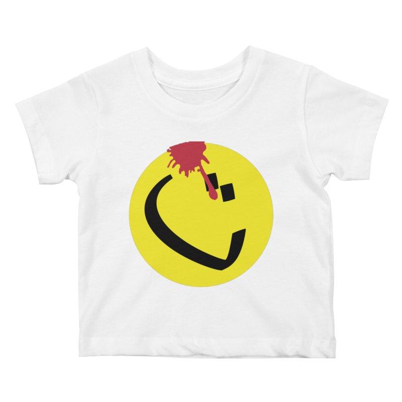 The Tah Smiley Comics Tribute by Sardine Kids Baby T-Shirt by Sardine