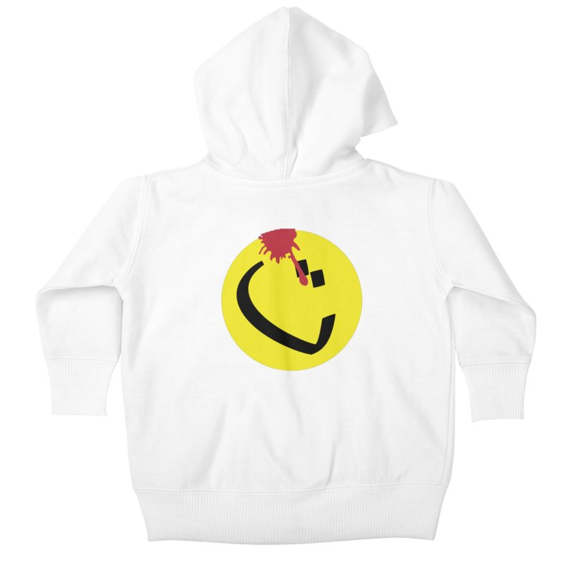 The Tah Smiley Comics Tribute by Sardine Kids Baby Zip-Up Hoody by Sardine