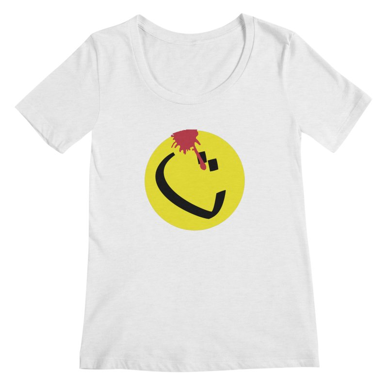 The Tah Smiley Comics Tribute by Sardine Women's Regular Scoop Neck by Sardine