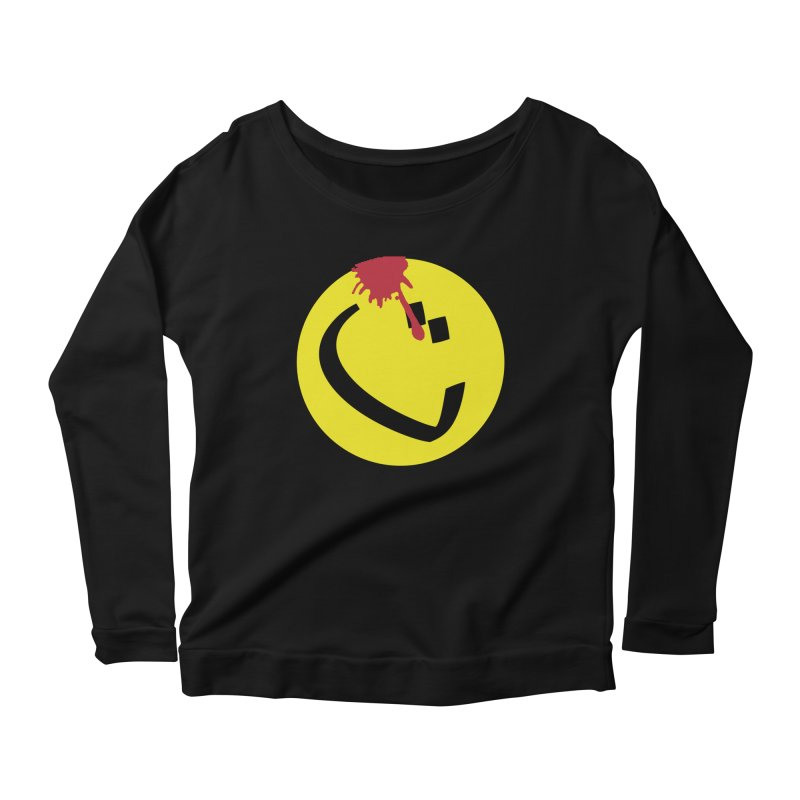 The Tah Smiley Comics Tribute by Sardine Women's Scoop Neck Longsleeve T-Shirt by Sardine