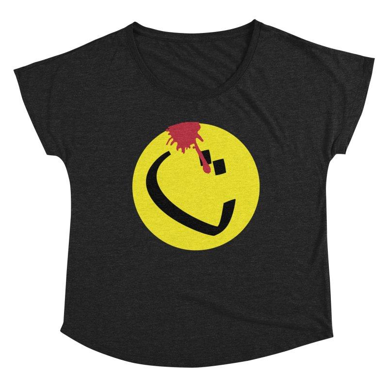 The Tah Smiley Comics Tribute by Sardine Women's Scoop Neck by Sardine
