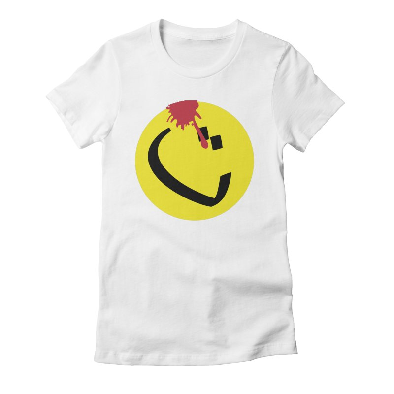 The Tah Smiley Comics Tribute by Sardine Women's Fitted T-Shirt by Sardine