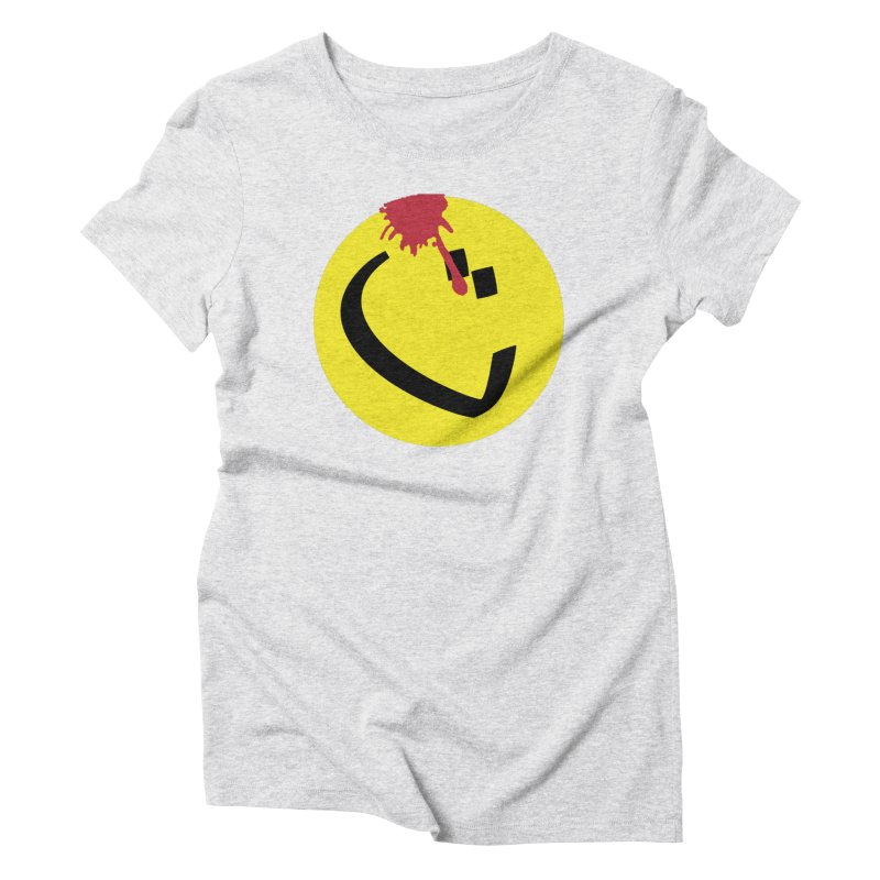 The Tah Smiley Comics Tribute by Sardine Women's Triblend T-Shirt by Sardine