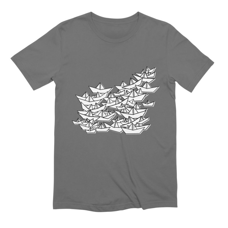 Paper Boats by Sardine Men's T-Shirt by Sardine
