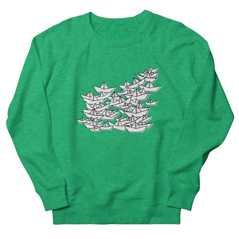 Paper Boats by Sardine Women's Sweatshirt by Sardine