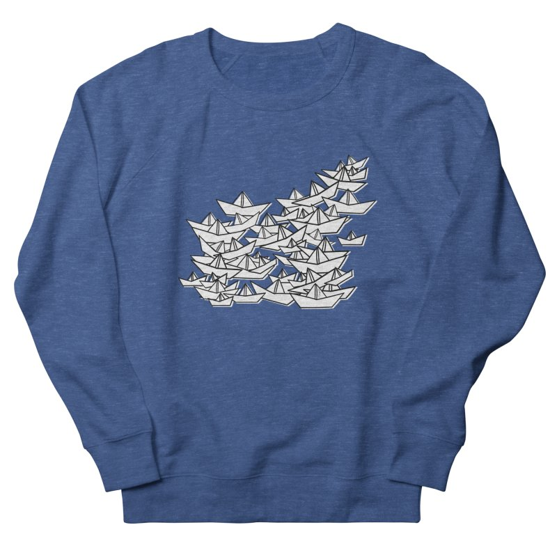 Paper Boats by Sardine Men's Sweatshirt by Sardine