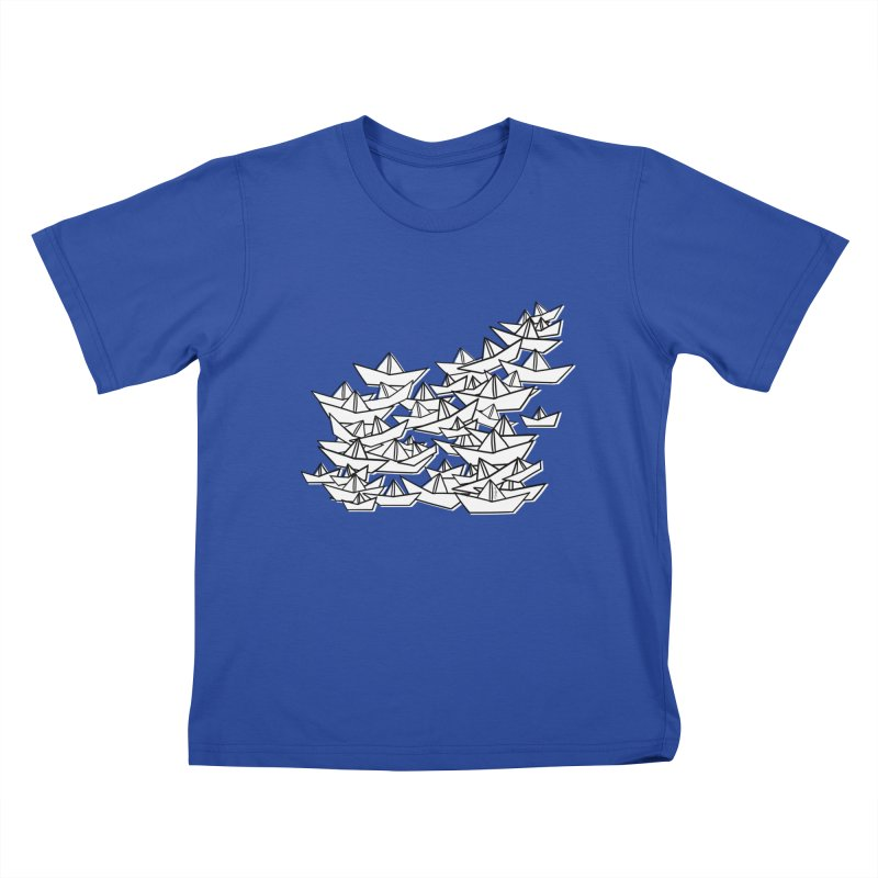 Paper Boats by Sardine Kids T-Shirt by Sardine
