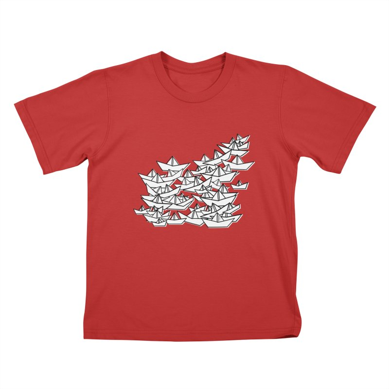 Paper Boats by Sardine Kids T-Shirt by Sardine