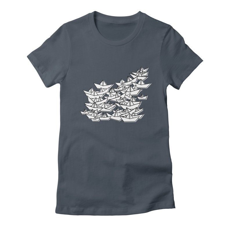 Paper Boats by Sardine Women's T-Shirt by Sardine