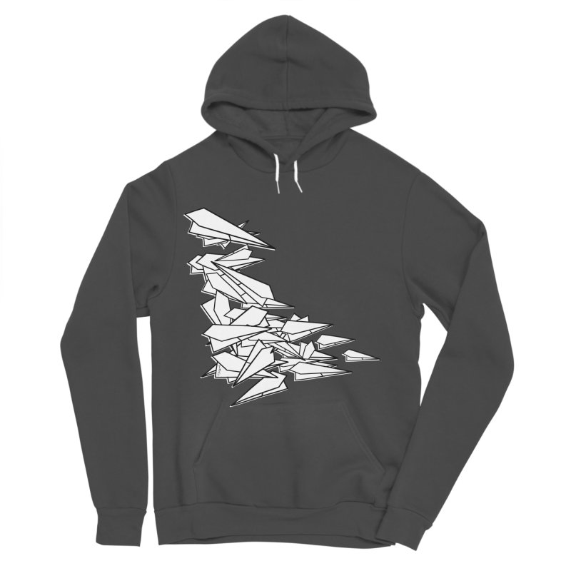 Paper Planes by Sardine Men's Sponge Fleece Pullover Hoody by Sardine
