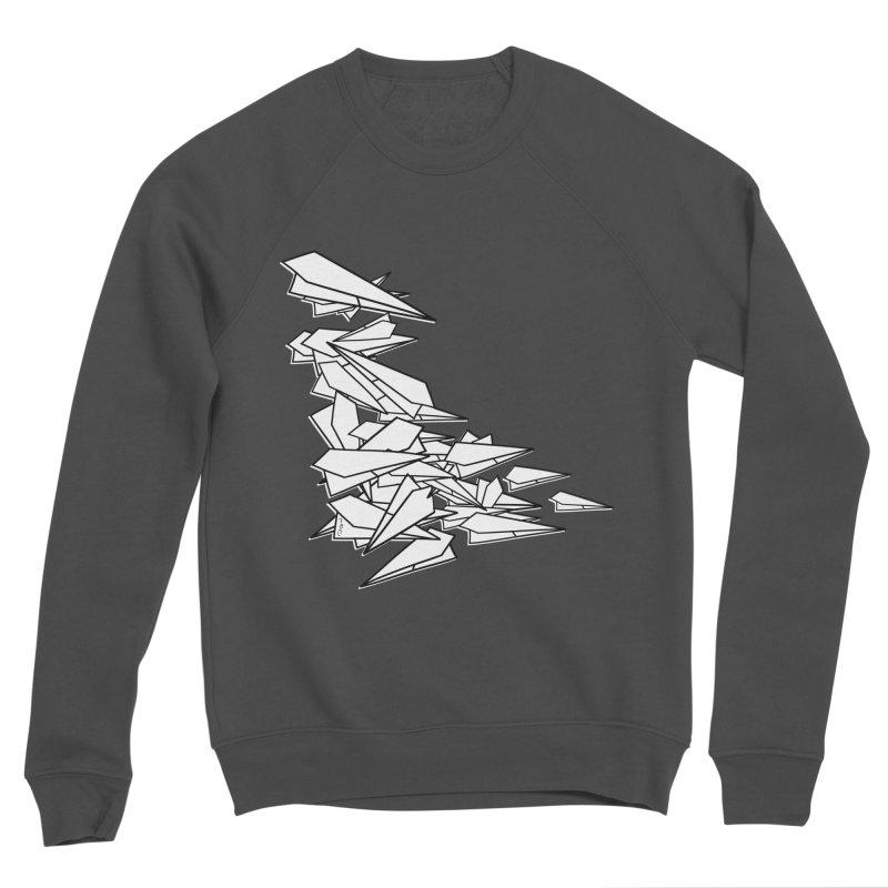 Paper Planes by Sardine Women's Sponge Fleece Sweatshirt by Sardine