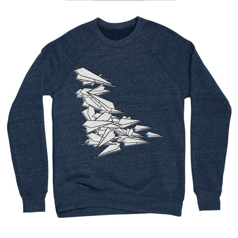 Paper Planes by Sardine Men's Sponge Fleece Sweatshirt by Sardine