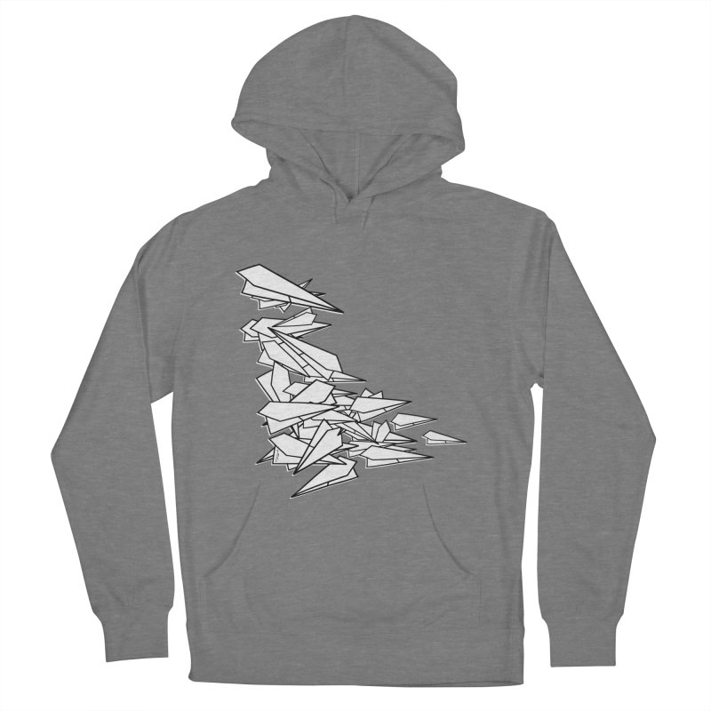 Paper Planes by Sardine Women's French Terry Pullover Hoody by Sardine