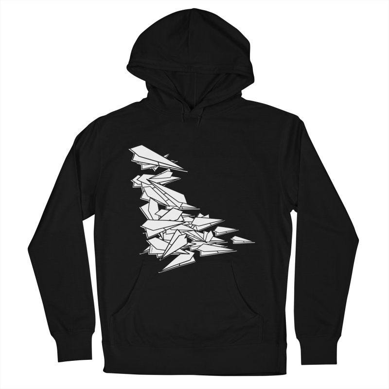 Paper Planes by Sardine Men's French Terry Pullover Hoody by Sardine
