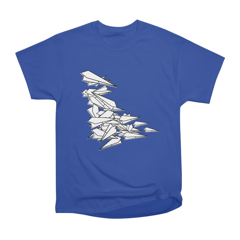 Paper Planes by Sardine Men's Heavyweight T-Shirt by Sardine