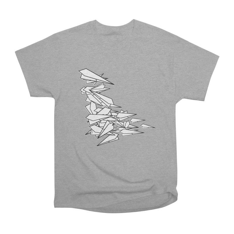 Paper Planes by Sardine Women's Heavyweight Unisex T-Shirt by Sardine
