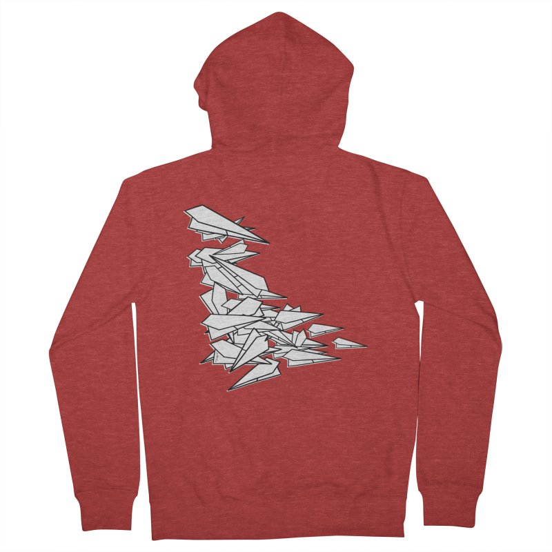 Paper Planes by Sardine Men's Zip-Up Hoody by Sardine