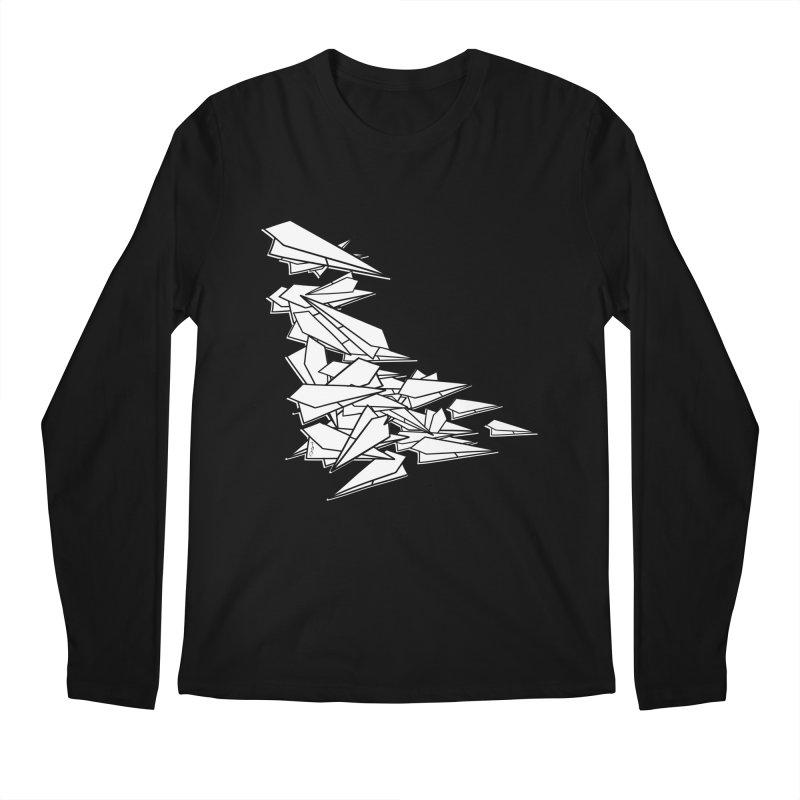 Paper Planes by Sardine Men's Regular Longsleeve T-Shirt by Sardine