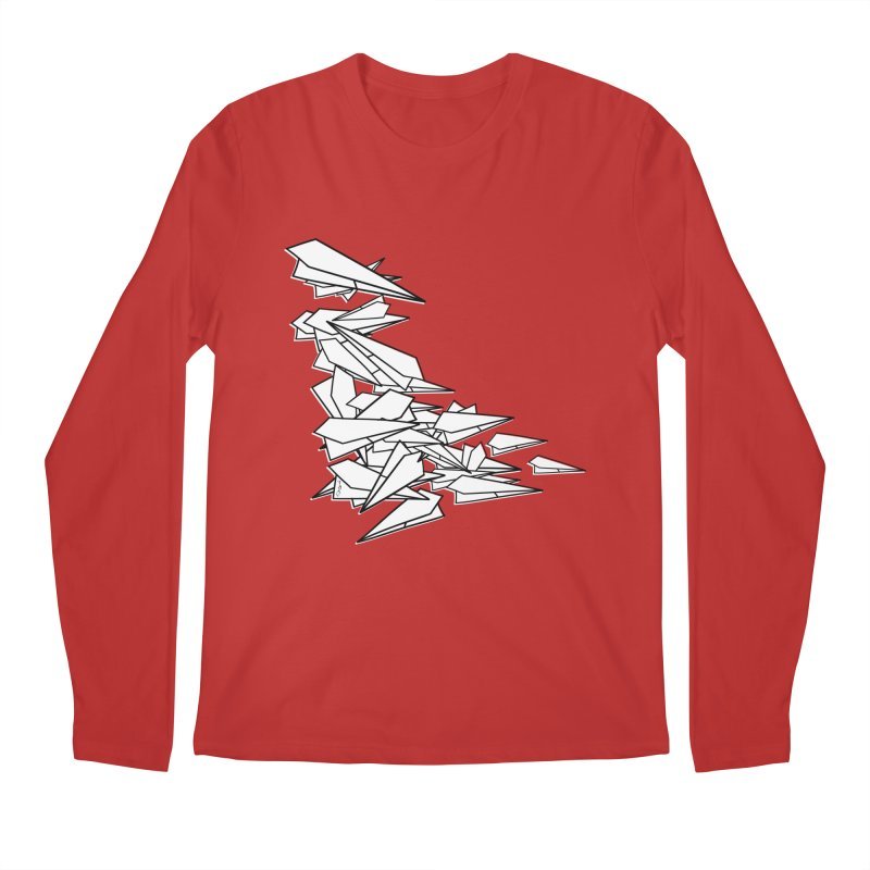 Paper Planes by Sardine Men's Regular Longsleeve T-Shirt by Sardine