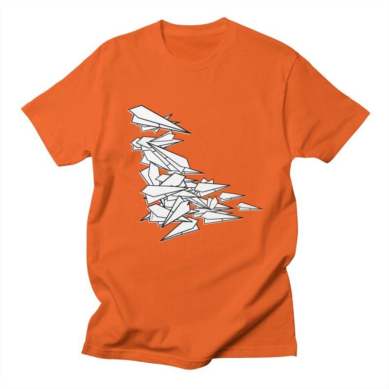 Paper Planes by Sardine Women's Regular Unisex T-Shirt by Sardine