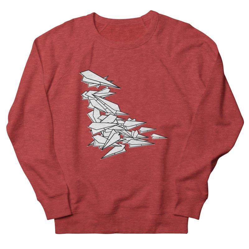 Paper Planes by Sardine Women's French Terry Sweatshirt by Sardine