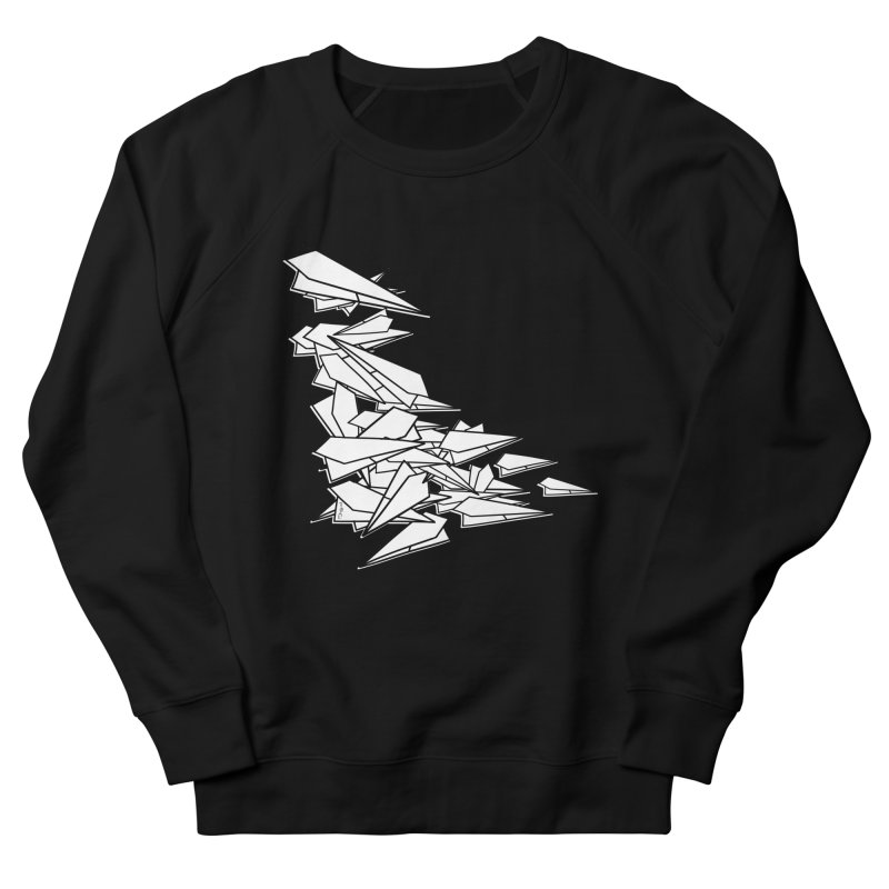 Paper Planes by Sardine Men's French Terry Sweatshirt by Sardine