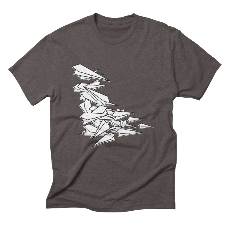 Paper Planes by Sardine Men's Triblend T-Shirt by Sardine