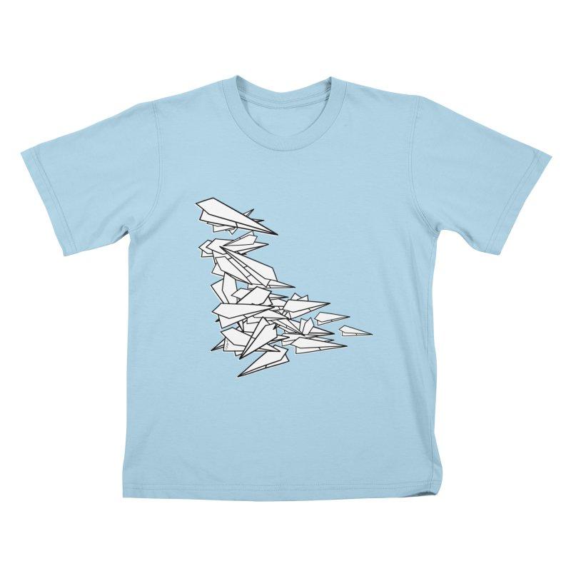 Paper Planes by Sardine Kids T-Shirt by Sardine